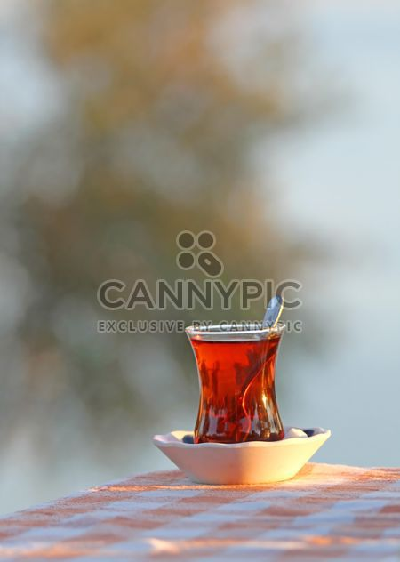 Traditionelle Glas türkischen Tee - Free image #302907