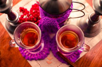 warm tea with cinnamon - image #302937 gratis