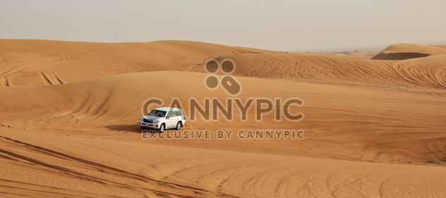 Driving on jeeps on the desert - Free image #303367