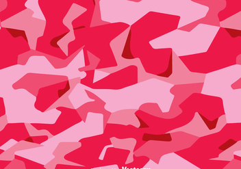 Fashion Pink Camo Vector - Free vector #303667