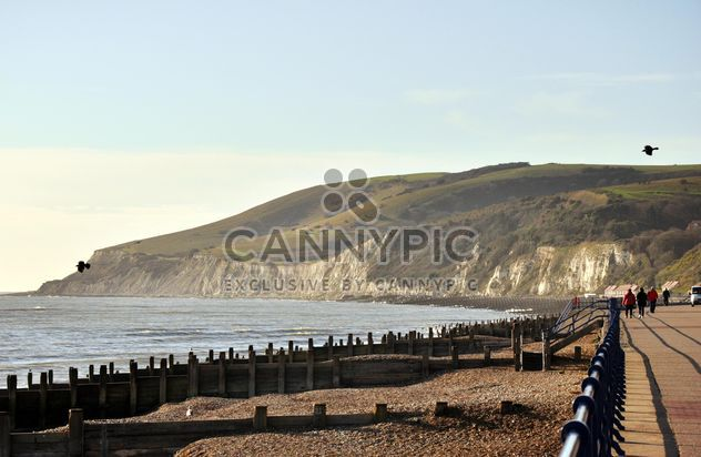 Vue sur les falaises de craie - image gratuit(e) #303797