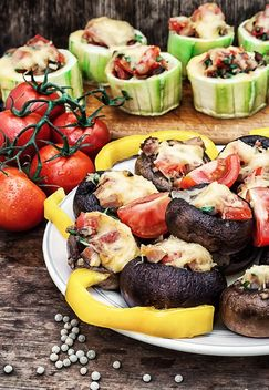 stuffed mushrooms - image gratuit #304017