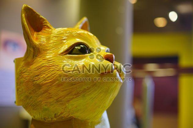 Cute porcelain cat head - Free image #304037