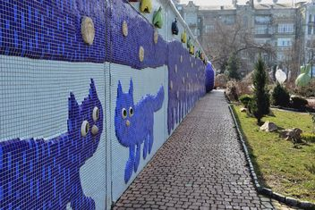 Mosaic of two cats - Kostenloses image #304047