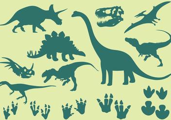 Dinosaur Icons - Free vector #304257