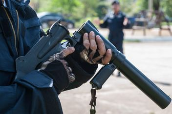 Police training rifle - бесплатный image #304597