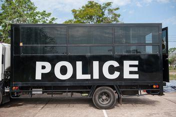 police bus - Free image #304617