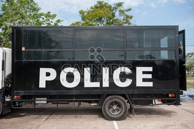 bus de police - image gratuit #304617