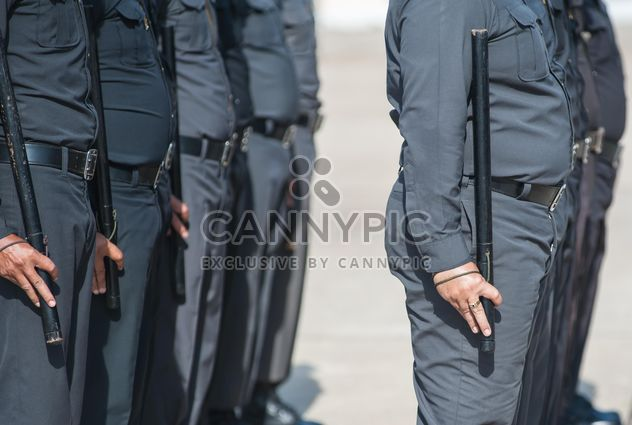 Policemen the parade ground - image gratuit #304647
