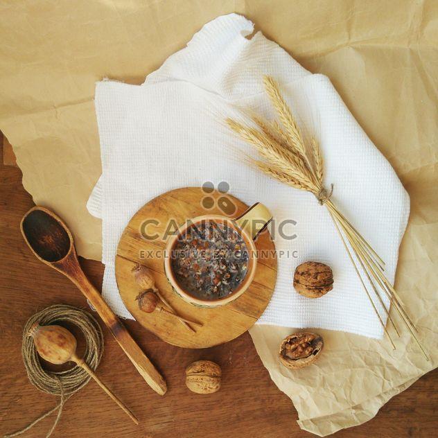Kutia de Navidad decorada con trigo - image #304727 gratis