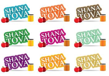 Shana Tova - Free vector #305117