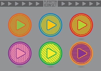 Play Button Icon 2 - Free vector #305197