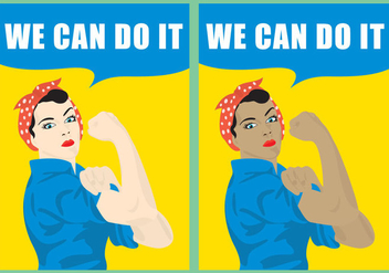We Can Do It - vector gratuit #305537
