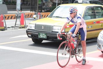 Enjoying bicycle ride in Harajuku - Kostenloses image #305737