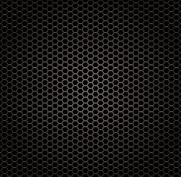 Glossy Honeycomb Metal Grill Texture - Free vector #305897