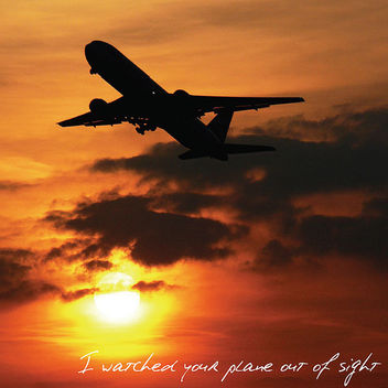 I watched your plane... - image #308477 gratis