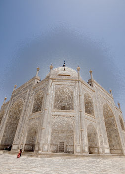 Taj Mahal Perspective - Free image #308967