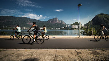 Lagoa Rodrigo de Freitas, Rio de Janeiro - бесплатный image #309367