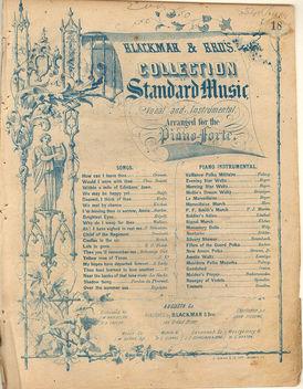 Old Sheet Music - Kostenloses image #310387