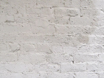 White Brick Wall - image gratuit #310987