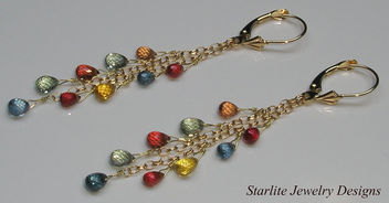 Starlite Jewelry Designs - Briolette Earrings - Jewelry Design - Kostenloses image #314017