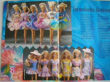 Barbie journal 1991 - image #314377 gratis