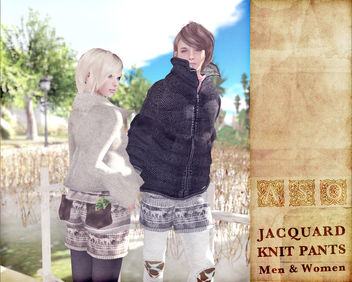 Jacquard Knit Pants - Kostenloses image #314737