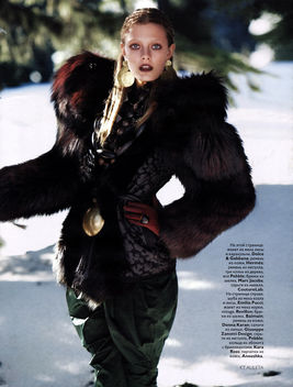 Constance Jablonski, Vogue Russia November 2009 - Free image #315307