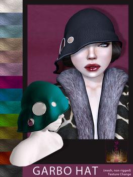 [LeeZu!] Garbo Hat - image gratuit #315487