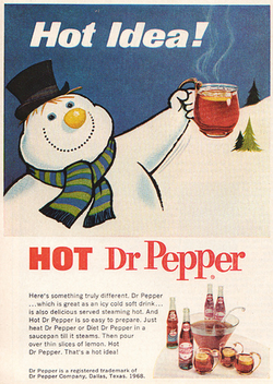 Dr Pepper Ad 1969 - Free image #317227