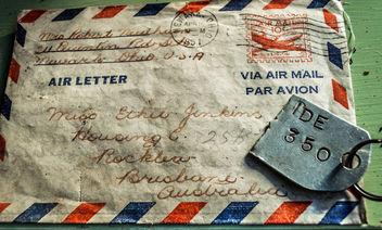 1951 Brisbane Letter - image gratuit #319337