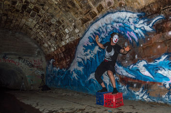 Clown Surfer - image gratuit #319517