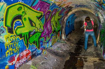 Rude Drain Graffiti - Free image #319787