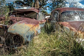 Abandoned Cars - Kostenloses image #320127