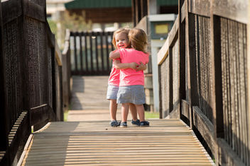 Twin Hug - Free image #320727