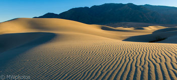 Sand Dunes - Death Valley National Park - Kostenloses image #321057