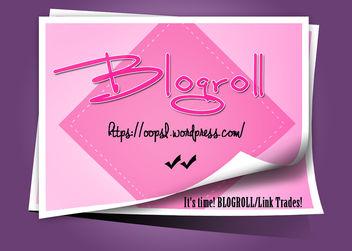 BlogRoll - Free image #325027