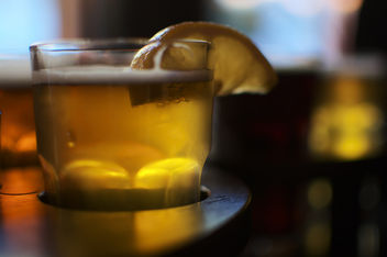 Beer with Lemon - image #326437 gratis