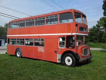 Old Double Decker Bus - image gratuit(e) #326547