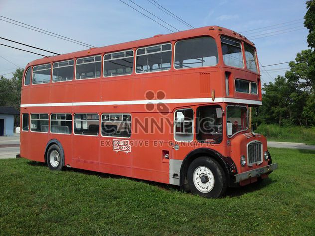 Old Double Decker Bus - Free image #326547