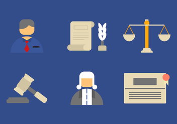 Free Law Office Vector Icons #6 - Free vector #326587