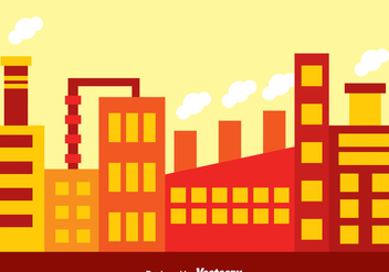 Factory Area Vector - Free vector #326707