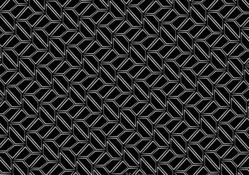 Black And White Retro Pattern - vector gratuit #327147