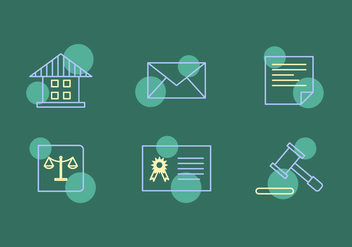 Free Law Office Vector Icons #11 - Free vector #327557