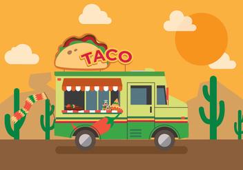 Vector Taco Truck - vector #327617 gratis
