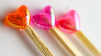 Heart lollipops - image gratuit(e) #327777