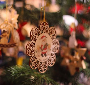 Christmastree decoration - image #327857 gratis