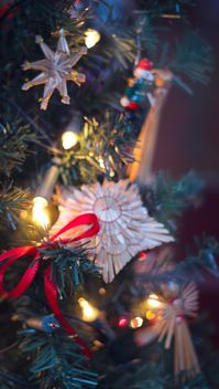 Christmastree decoration - image #327867 gratis