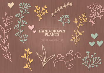 Vector Hand-drawn Elements - Kostenloses vector #327907