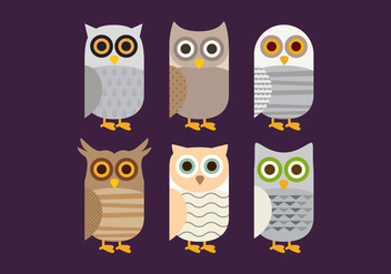 Vector Barn Owl - Free vector #327937